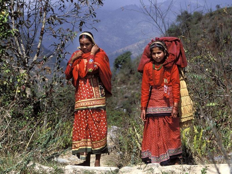 Nepali People Photos. people and Nation of Nepal