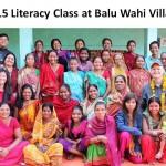LITERACY CLASS BALU WAHI VILLAGE (2)