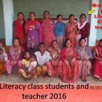 LITERACY CLASS BALU WAHI VILLAGE (3-1)