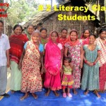 LITERACY CLASS BALU WAHI VILLAGE (3-2)